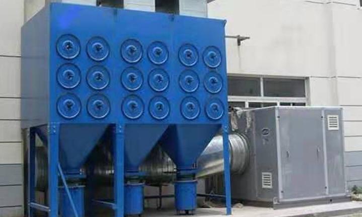 脉冲式滤筒除尘处理工程案例