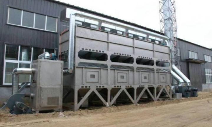 催化燃烧设备废气处理工程