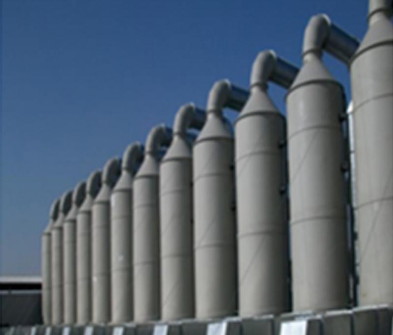 有机废气处理设备喷淋塔