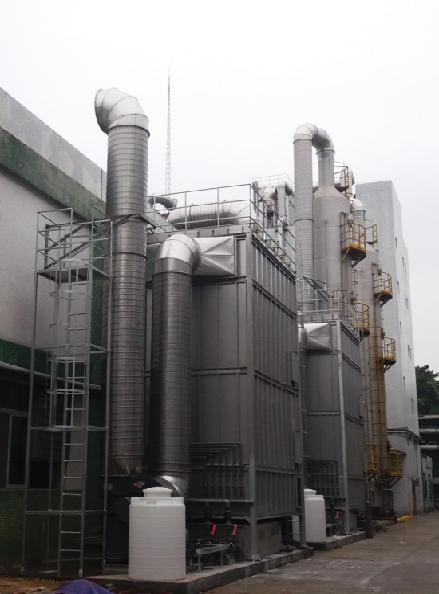 预处理+生物洗涤 VOCs处理工艺